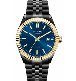 Dissing Date Black/Blue/Gold-045