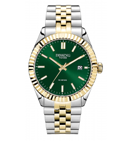 Dissing Two Tone Date Gold/Green-045