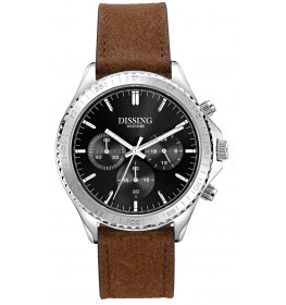Dissing Chrono Leather Silver/Black-07