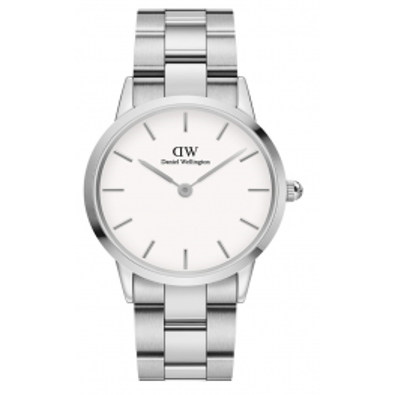 Daniel Wellington Iconic Link 36 Steel White ADW00100203-035