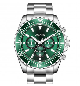 Lugano Icon Steel/Green-045