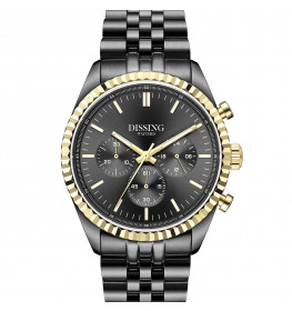 Dissing Date Chrono Grey Gold-05