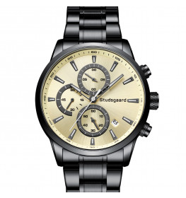 Studsgaard Chronograph Black/Gold-08