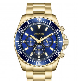 Lugano Icon Gold/Blue-055