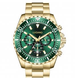 Lugano Icon Gold/Green-052
