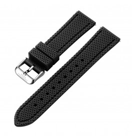 Dissing Black Silicone Strap 22MM DS012-01
