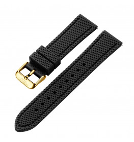 Dissing Black Silicone Strap 22MM DS013-01