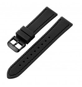 Dissing Black Silicone Strap 20MM DS005-02