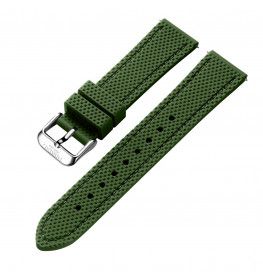 Dissing Green Silicone Strap 22MM DS017-01