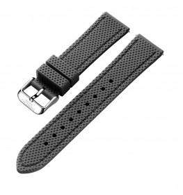 Dissing Grey Silicone Strap 22MM DS010-01