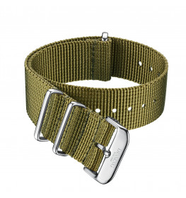 Dissing Green Nato Strap 18MM DS048-02