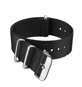 Dissing Black Nato Strap 18MM DS043-02
