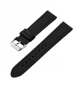 Dissing Leather Strap Black 20 mm-05