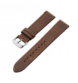 Dissing Dark Brown Leather Strap 18 mm. DS103-06