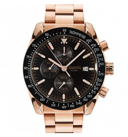 Dissing Chrono Rose Gold/Black-023