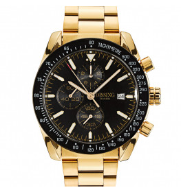 Dissing Chrono Black/Gold-024