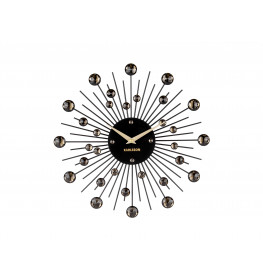 Karlsson Wall Clock Sunburst Crystal Medium KA4860BK-075