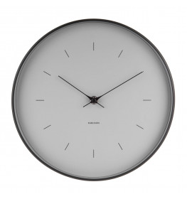 Karlsson Wall clock Butterfly Hands KA5708GY-039