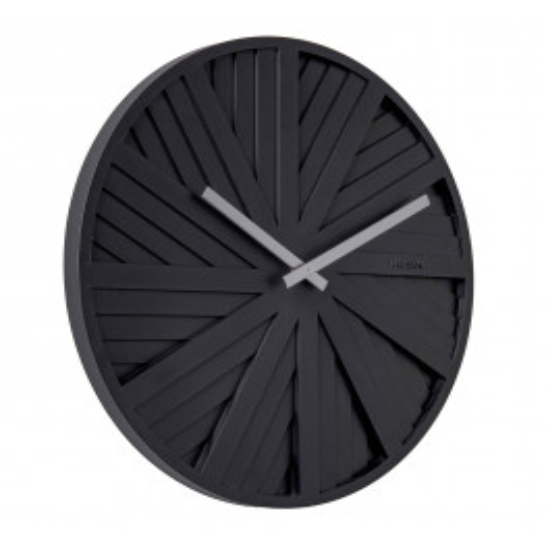 Karlsson Wall Clock Slides KA5839BK 40 cm-010
