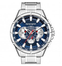 KENSINGTON LONDON MASTER SILVER/BLUE-09