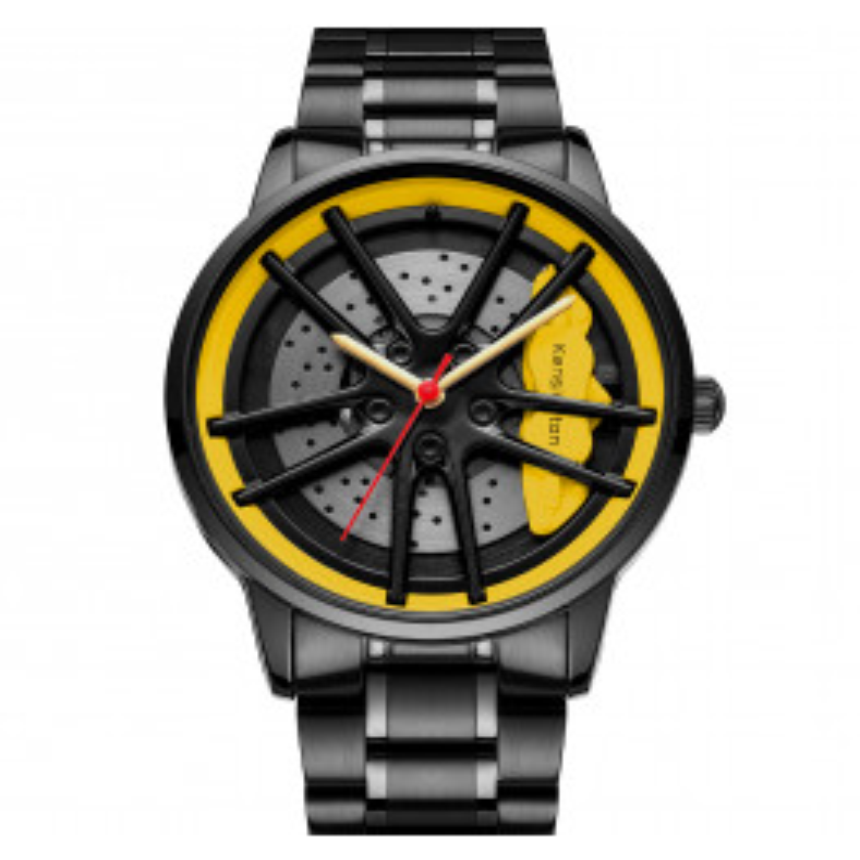 Kensington Racing Yellow/Black-07