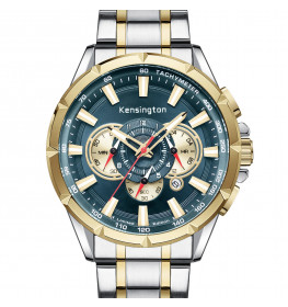 Kensington Master Limited Edition Steel/Gold/Turquoise-07