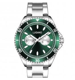 Lugano Diver Chrono Green-05