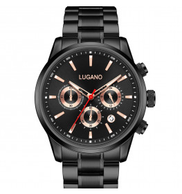 Lugano Master Black/Rose-040