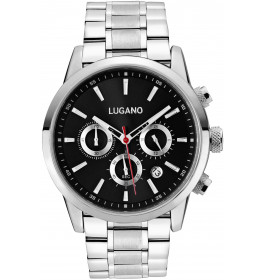 Lugano Master Steel/Black-031