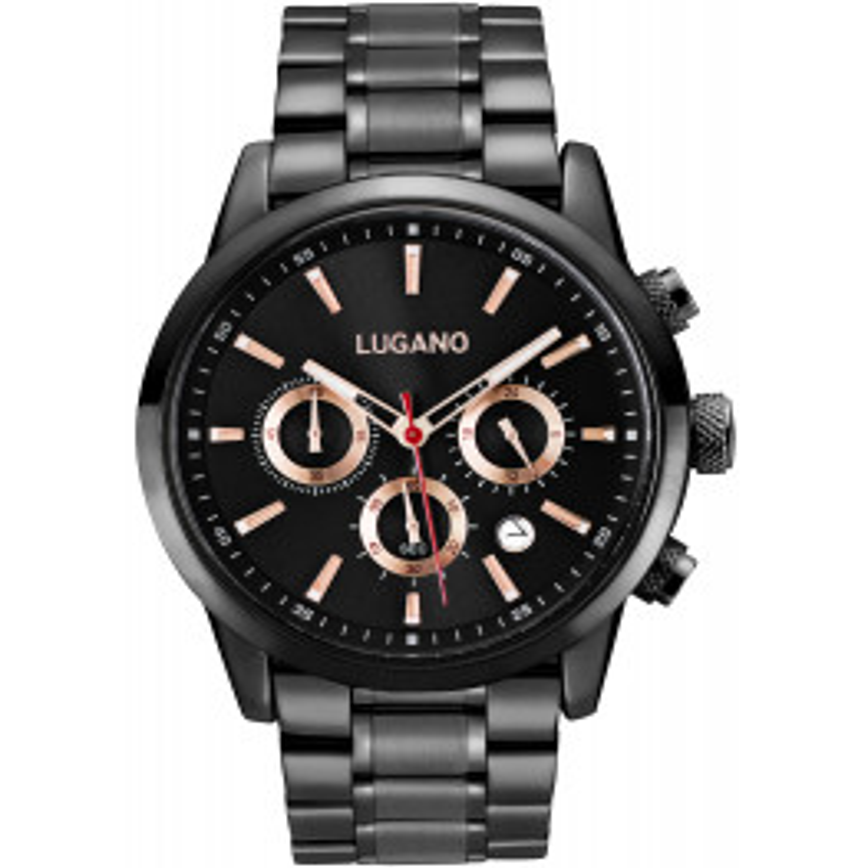 Lugano Master Black/Rose-038