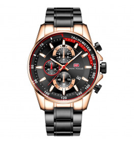 Megir Mini Focus MF0218 Black/Rose Gold-047
