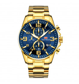 Megir Mini Focus MF0278 Gold/Blue-048