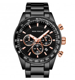 Megir Mini Focus MF0187G.04 Black/Rose Gold-053