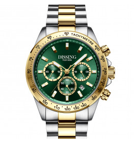 Dissing MK9 Two Tone Steel/Gold/Green-064