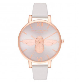 Olivia Burton 3D Bee Big Dial Sunray Blush and Rose Gold-033