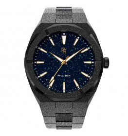 Paul Rich Frosted Star Dust Black Automatic 42mm-010