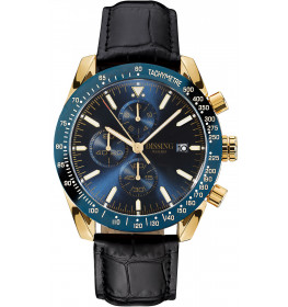 Dissing Chrono Leather Black/Gold/Blue-010