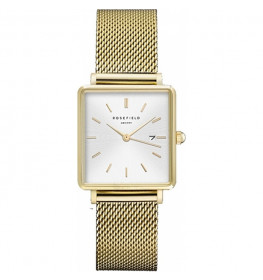 Rosefield The Boxy Collection Gold white-027