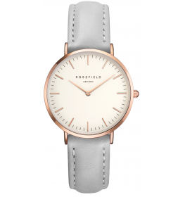 Rosefield The Tribeca White Grey Rose Gold-024