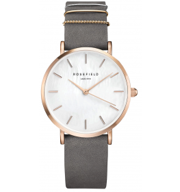Rosefield The West Village Elephant Grey Rose Gold-035
