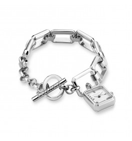 Rosefield The Octagon Charm Chain SWSSS-O53-02