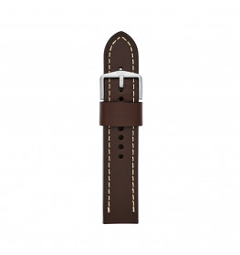 Fossil Leather Strap Dark Brown 22 mm S221242-06