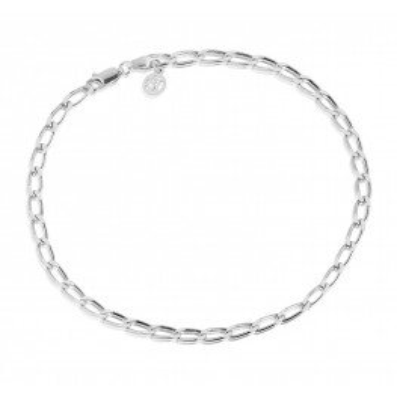 Sif Jakobs Cheval Chain Ankelkæde Sølv-010