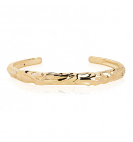 Sif Jakobs VULCANELLO BANGLE 18 kt. Forgyldt-02