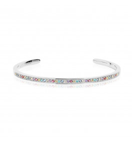 Sif Jakobs VALIANO BANGLE Sølv-02