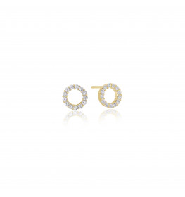 Sif Jakobs BIELLA UNO PICCOLO EARRINGS Guldbelagt-02