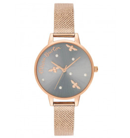 Olivia Burton Pearly Queen Pearl Detail Rose Gold-012