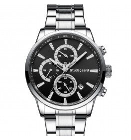 Studsgaard Chronograph Black/Steel-04