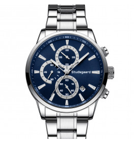 Studsgaard Chronograph Steel/Blue-04