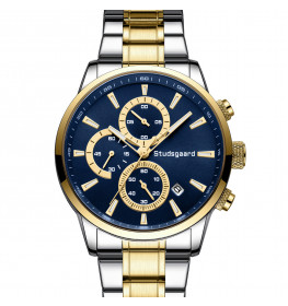 Studsgaard Chronograph Blue/Steel/Gold-04